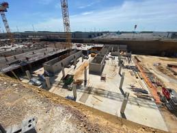 Vue du chantier en juin 2021. ((Photo: Costantini))