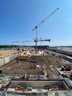 Vue du chantier en juillet 2021. ((Photo: Costantini))