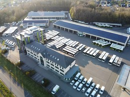 Aujourd'hui, la flotte Sales Lentz comprend 639 véhicules, dont 115 électriques et hybrides. ((Photo: SLG))