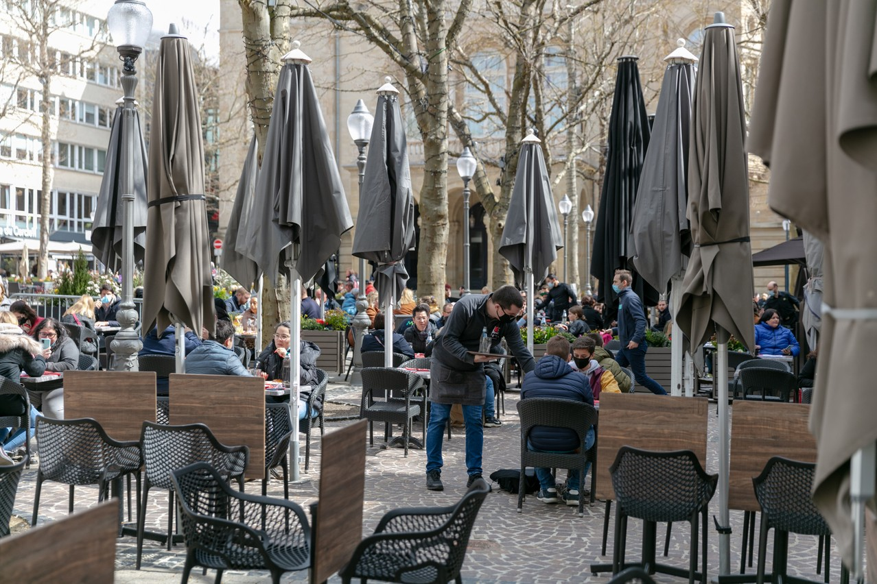 The hospitality sector did well in the second quarter compared to last year but suffered compared to the start of 2021 Photo: Romain Gamba / Maison Moderne