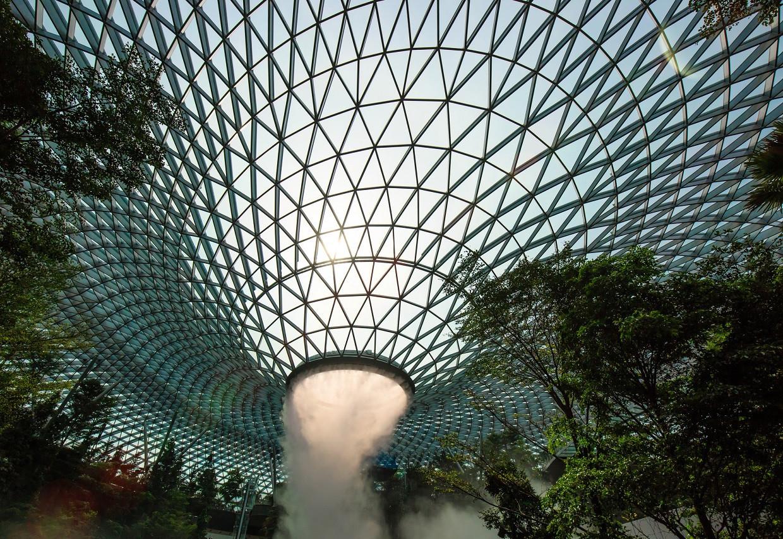 Singapore airport. (Photo: Lyxor ETF)