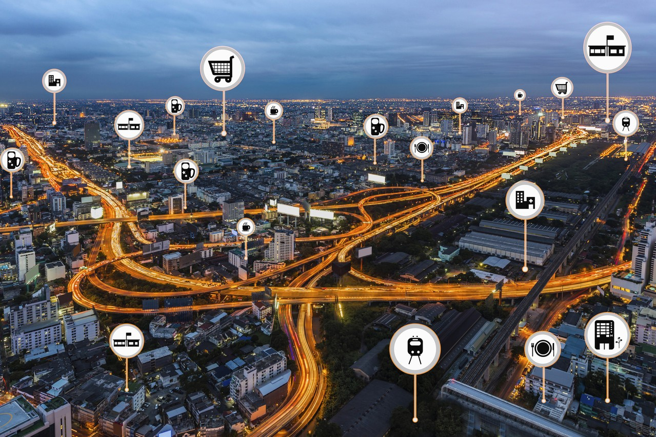 La smart city permet d'améliorer le quotidien des citoyens tout en utilisant les nouvelles technologies. (Illustration: Shutterstock)