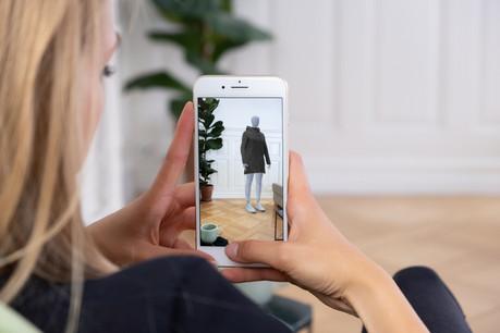 Une minute pour créer un avatar. La solution de Fision, rachetée par Zalando, est l'une des nombreuses start-up à vouloir remédier au désastre de la «vanity size». (Photo: Fision)