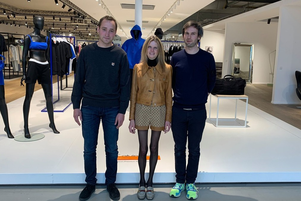 Laurent Beaudoint, Pascaline and Bertrand Smets are taking over the management of the Luxembourg company, which aims to open in Antwerp in 2023, after a first foray into Brussels in 2011. (Photo: Maison Moderne)
