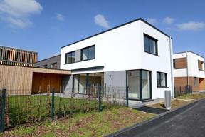 Vue d'une maison-témoin à Elmen. ((Photo: Médiathèque Commune de Kehlen – RaymondFaber))