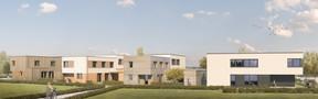 Vue des logements à Elmen. ((Illustration: SNHBM))