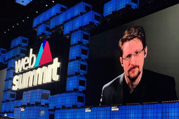 EdwardSnowden a évoqué le piège qui se referme sur les géants d'internet face à la peur de certains gouvernements de ne plus avoir un accès libre aux données individuelles. (Photo: Paperjam)