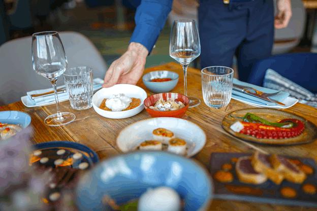Associer les saveurs et les couleurs a toujours été un des points forts du restaurant Mu, au Sofitel Le Grand Ducal. (Photo: Maison Moderne)