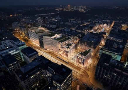 Une soirée-débat sur le thème des centres commerciaux sera présentée à l'auditorium du Cercle-Cité, le 18 novembre 2010 à 19h. (Photo: Luxconsult)