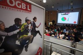Ambiance au QG de l'OGBL ((Photo: Nader Ghavami))
