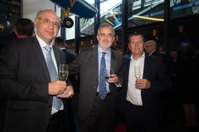 Jean-Marie Spaus (ministère de l'Économie), Paul Retter (Luxembourg Online) et Edouard Wangen. ((Photo: Nader Ghavami))