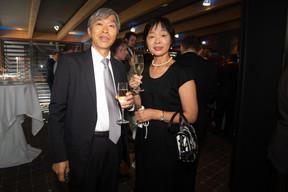 Shigeji Suzuki (Ambassadeur du Japon au Luxembourg) et son épouse. ((Photo: Nader Ghavami))