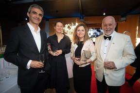 Jos Giannandrea (SES), Natalia Durus (multi-LEARN Institute), Paul Schonenberg (Amcham), ((Photo: Nader Ghavami))