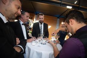 Jean-Philippe Ulrich (Cegecom), Yannick Doyen (POST Telecom) ((Photo: Nader Ghavami))