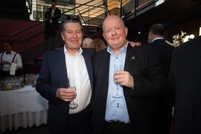 Edouard Wangen et Jean-Philippe Boever (Eolis Media) ((Photo: Nader Ghavami))