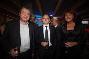 Marc Schambourg (POST Telecom), Georges Muller (Cegecom) et Pascale Spiroux (Cegecom) ((Photo: Nader Ghavami))