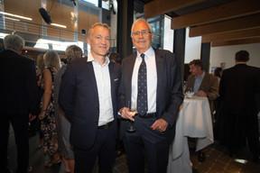 Cliff Konsbruck (POST Telecom) et Théo Duhautpas ((Photo: Nader Ghavami))