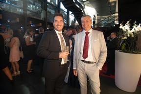 Jerry Probst (EBRC) et Peter Poehle (conferencefilms) ((Photo: Nader Ghavami))