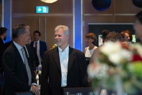 Marc Hemmerling (ABBL) et Marco Bertame (Proximus) ((Photo: Nader Ghavami))