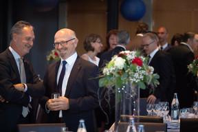 Marc Hemmerling (ABBL) et Romain Siebenaler (Cisco) ((Photo: Nader Ghavami))