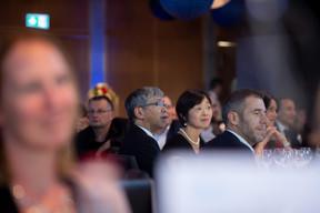 Shigeji Suzuki (Ambassadeur du Japon au Luxembourg) et son épouse ((Photo: Nader Ghavami))