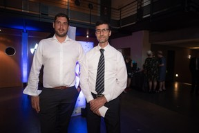 Thomas Issolah (Cisco) et Daniel Soriano (Proximus) ((Photo: Nader Ghavami))