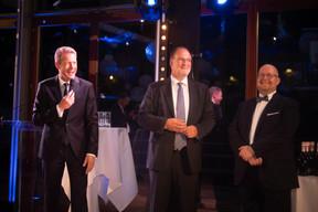 Claude Demuth (Lu-Cix), Roger Lampach (Lu-Cix) et Marco Houwen (Lu-Cix) ((Photo: Nader Ghavami))