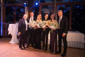 Marco Houwen (Lu-Cix), Roger Lampach (Lu-Cix), Emmy Gandar (LU-CIX), Frédérique Ulrich (LU-CIX), Séverine Leinen (LU-CIX) et Claude Demuth (Lu-Cix) ((Photo: Nader Ghavami))