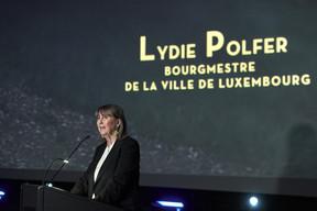 Lydie Polfer lors de son discours à la cérémonie d'ouverture du LuxFilmFest. ((Photo: CNA/Romain Girtgen))