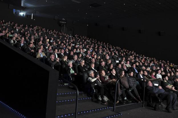 La salle était pleine pour la cérémonie d'ouverture du Luxembourg Film Festival2020. (Photo: CNA/Romain Girtgen)