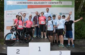 L'équipe de la Banque de Luxembourg était présente pour cette deuxième édition ((Photo: Jean-Jacques Marais))