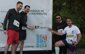 L'équipe d'EY était présente pour cette deuxième édition ((Photo: Jean-Jacques Marais))