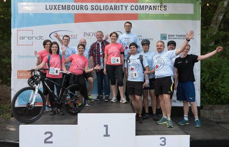 L'équipe de la Banque de Luxembourg était présente pour cette deuxième édition. (Photo: Jean-Jacques Marais)