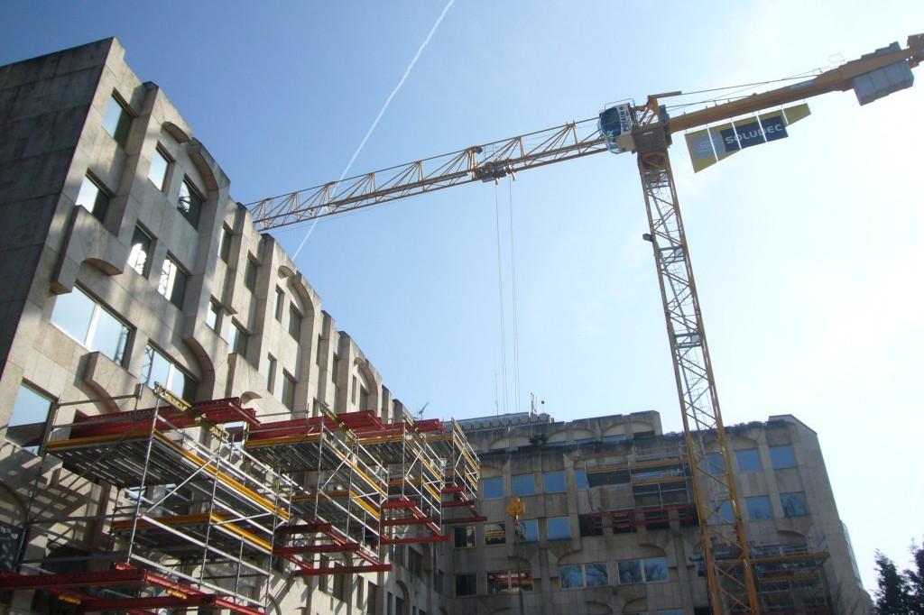 Soludec souhaite vite reprendre sa trentaine de chantiers en cours avant le confinement. Ici, l'extension de l'hôtel Le Royal, terminée depuis longtemps. (Photo: Soludec)