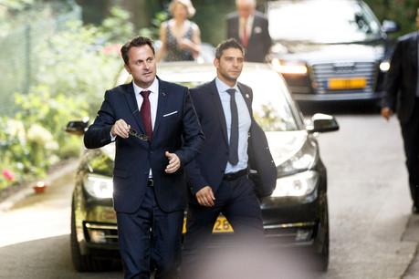XavierBettel rencontrera le gouvernement belge, mais à la fin du mois d'août. (Photo: Maison Moderne/archives)
