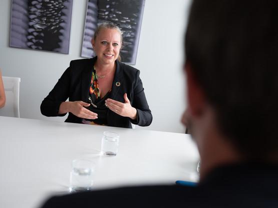 La ministre luxembourgeoise de l'Environnement, CaroleDieschbourg, compte parmi les 13 signataires. (Photo: Patrick Galbats/archives Maison Moderne)