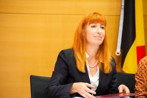 Pascale Delcomminette (Wallonie-Bruxelles International) ((Photo: Anthony Dehez))