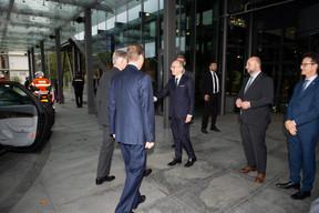 Luc Frieden (Chambre de commerce), Étienne Schneider (vice-Premier ministre) et Carlo Thelen (Chambre de commerce) ((Photo: Anthony Dehez))