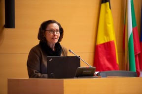 Claire Tillekaerts (Flanders Investment & Trade) ((Photo: Anthony Dehez))