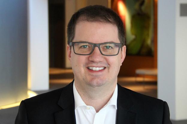 François Bade (Deloitte Luxembourg) analyse les résultats de l'étude sur la transformation digitale de la banque de détail. (Photo: Deloitte)