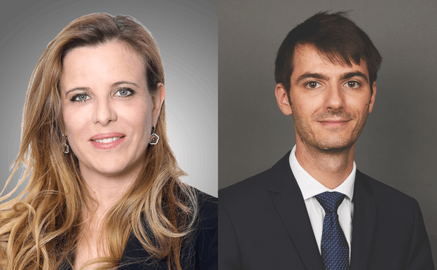 Alexandrine Armstrong-Cerfontaine and Vincent Herjean – Goodwin Procter (Luxembourg) (Photo: Goodwin Procter)