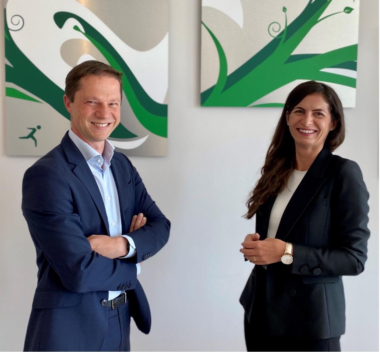 Gwenaël Gavray, Associate Partner, and Magdalena Murawska, Senior Manager at Avantage Reply Luxembourg  (Crédit: Avantage Reply Luxembourg)