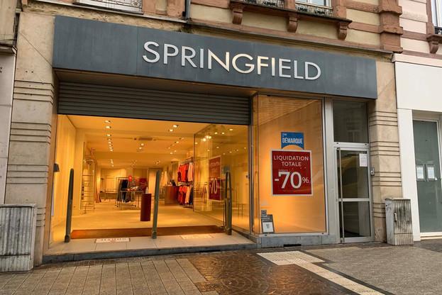 Springfield conservera trois implantations au Grand-Duché, toutes situées dans des centres commerciaux hors de la capitale. (Photo: Maison Moderne)
