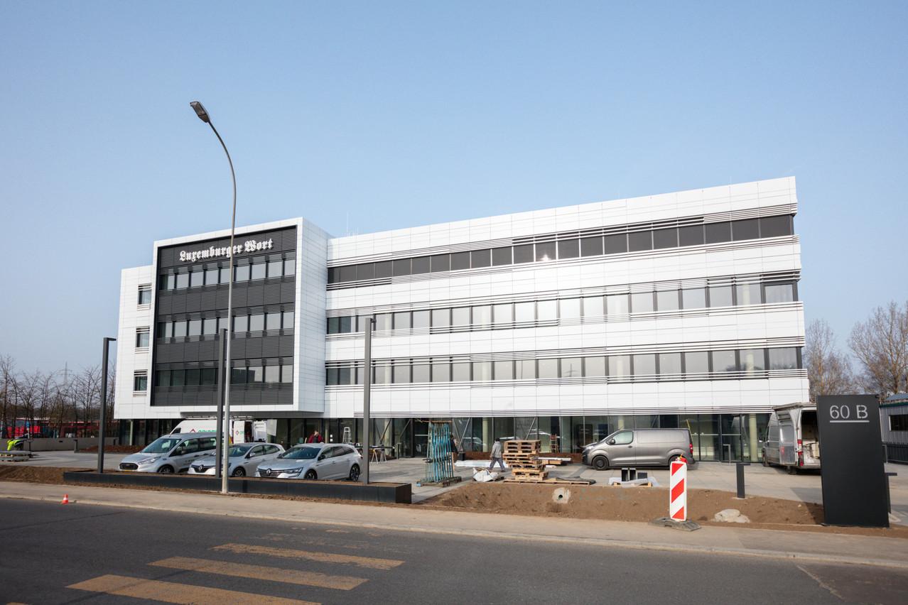 Les rédactions viennent de prendre leurs quartiers dans les nouveaux bureaux de Howald. C'est la première fois qu'elles quittent le territoire de Luxembourg-ville. (Photo: Romain Gamba/Maison Moderne/Archives)