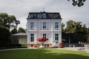 Le parc de la Villa Vauban a accueilli des petites attractions pour les enfants. ((Photo: Romain Gamba / Maison Moderne))
