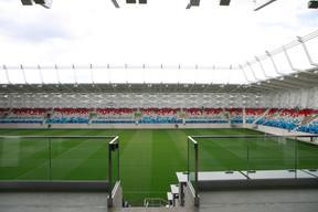 Le Stade de Luxembourg est équipé de 540 «business seats». ((Photo: Matic Zorman/Maison Moderne))