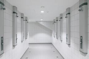 Les douches. ((Photo: Matic Zorman/Maison Moderne))