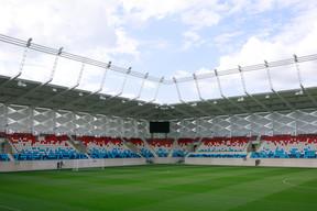 Le stade est aussi équipé de deux écrans géants. ((Photo: Matic Zorman/Maison Moderne))