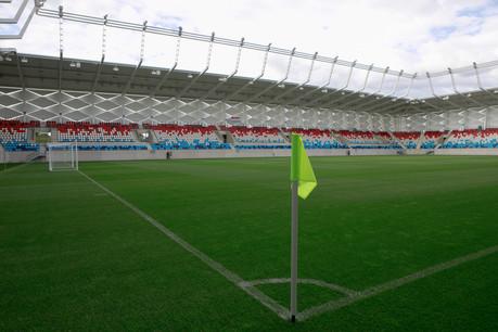 2.000 personnes devraient garnir les gradins du nouveau stade ce mercredi. (Photo: Matic Zorman/Maison Moderne)