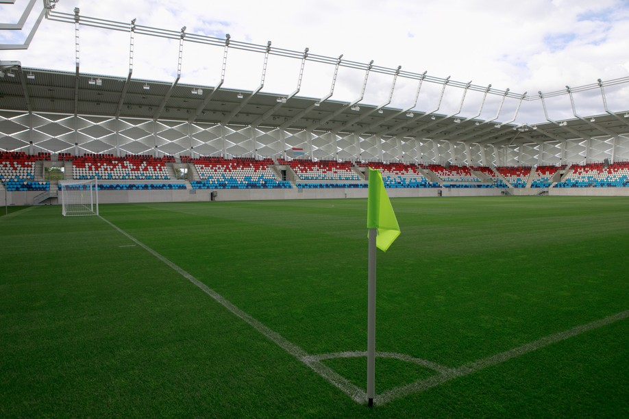 2,000 people are expected at the new national stadium on Wednesday, 1 September.  Photo: Matic Zorman / Maison Moderne